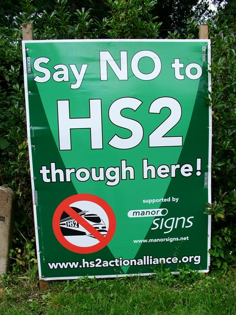 High Speed Rail Scandle-HS2