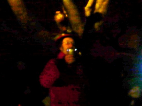 The wassail Ghost- Croxley Green Wassail Evening 27th Jan 2012-Stuart king- image (2)