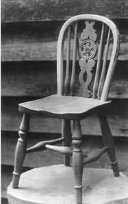A Sam Rockall chair