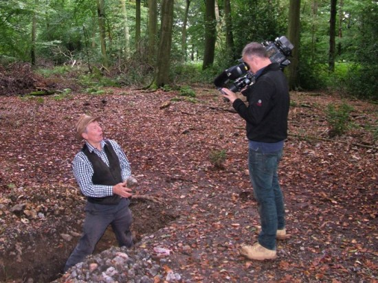 Wildwood, BBC TV News, filming Stuart King Oct 2013- (3)