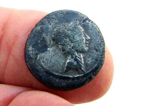 Wildwood find- Julius Caesar Denarius 42BC
